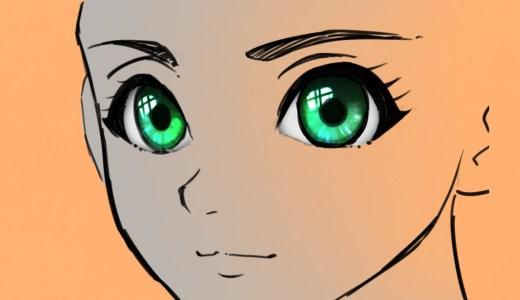 かんたん5ステップでキレイな目の塗る方法【瞳に命を吹き込むプロの描き方を紹介】