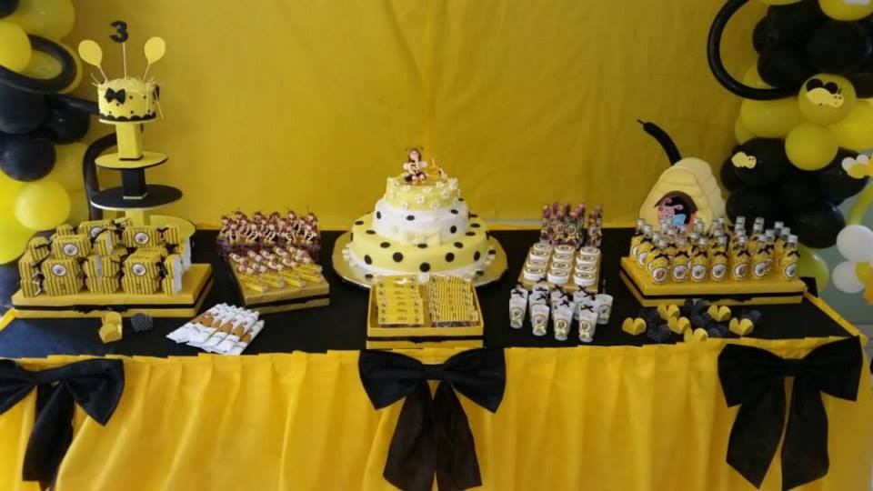 Fiesta infantil con tematica de abejas 20  Decoracion