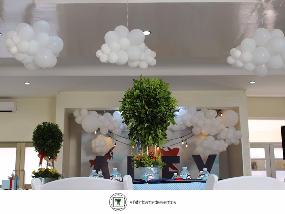 Ideas para Un Baby Shower de Aviones  Decoracion de