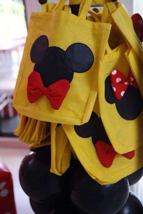 Dulceros econmicos de Mickey Mouse para fiestas