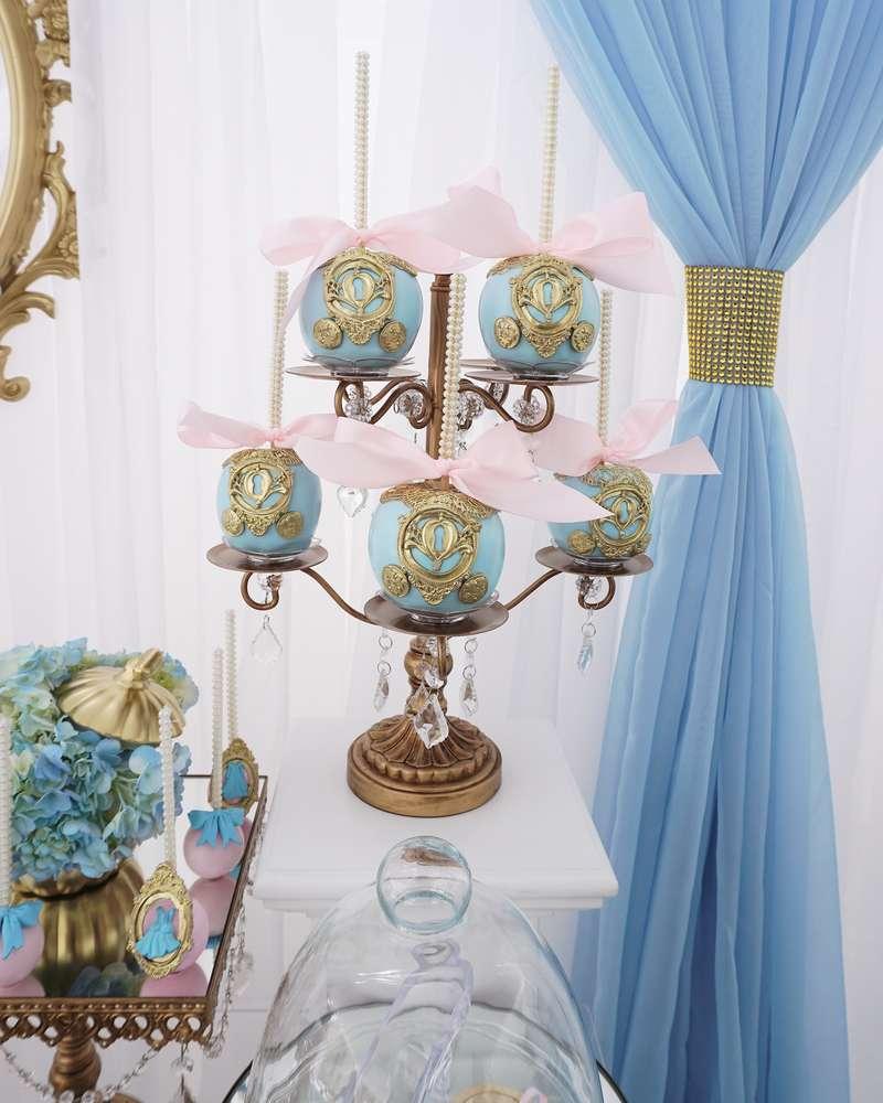 Fiesta Temtica de Cenicienta con una decoracin hermosa y