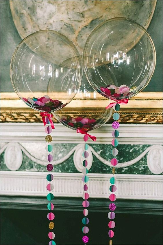 tendencia en globos para fiesta de 18 anos  Decoracion de