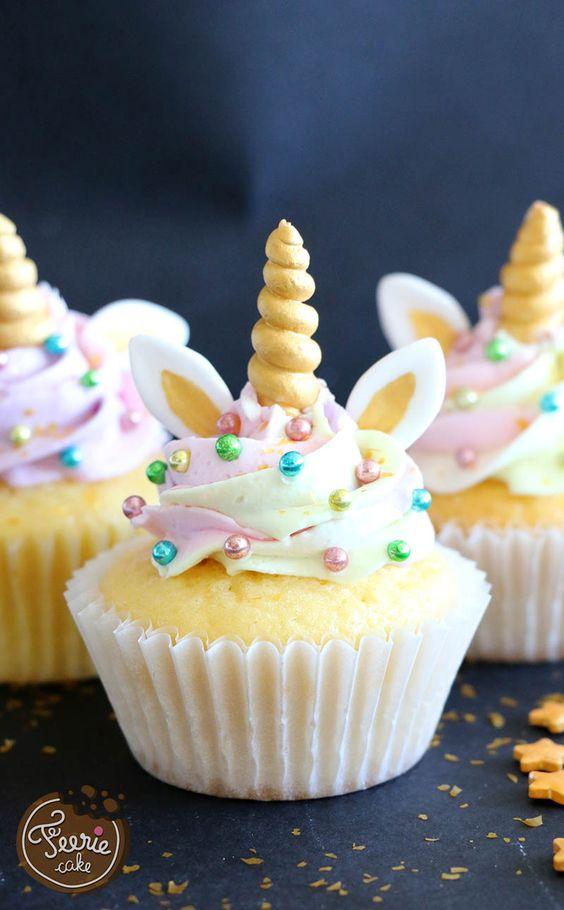Cupcakes para Fiestas Quequitos o Bollitos tipo pastel para Cumpleaos