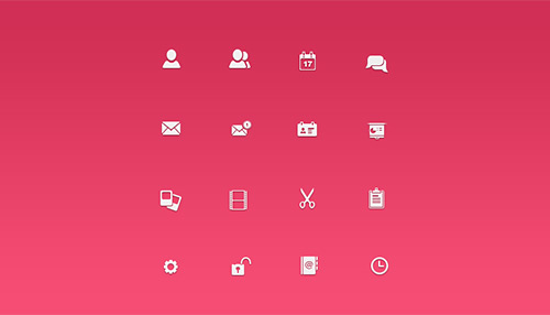IconSweets Free Vector PSD Icons