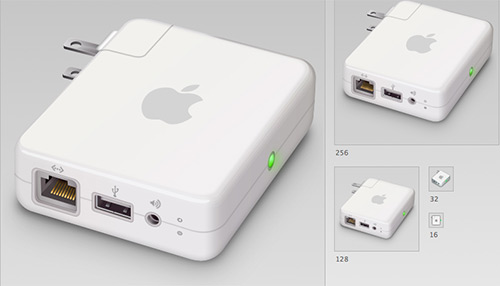 Airport Express -PSD Included