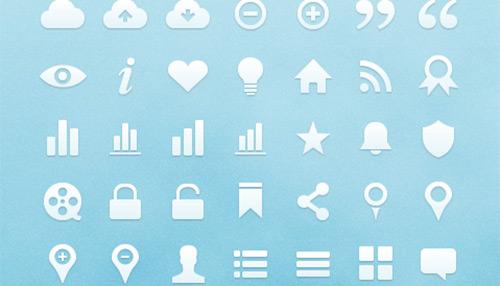 Freebie: Free Vector Web Icons (91 Icons)