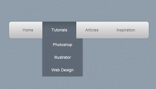 How To Create a Pure CSS Dropdown Menu | Tutvid.com