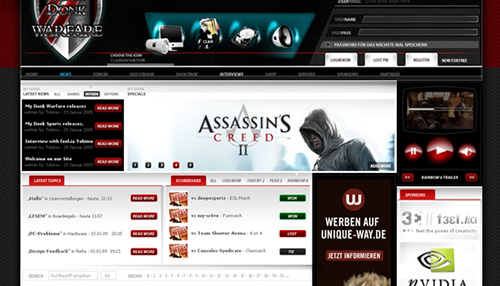45 Insane Game Website Designs for Your Inspiration