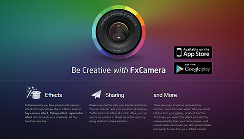 21 Beautiful iPhone and Android App Websites