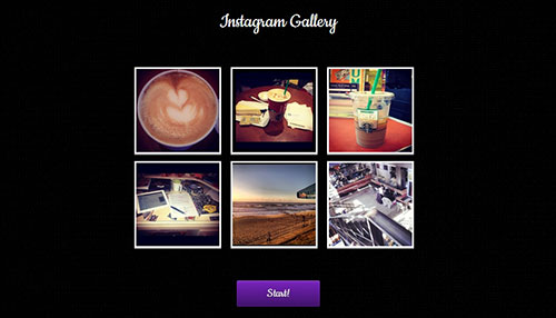 """A Cool Instagram """"Gravity"""" Gallery"""