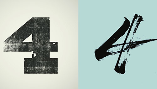 Very cool website! Lettering Vs. Calligraphy