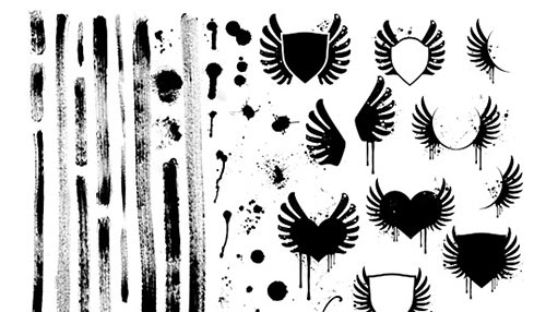 25 Free Photoshop Brush Packs