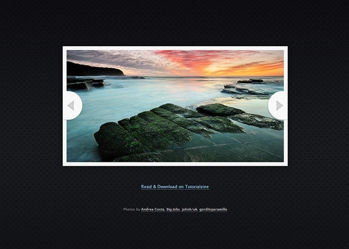 20. An HTML5 Slideshow w/ Canvas & jQuery