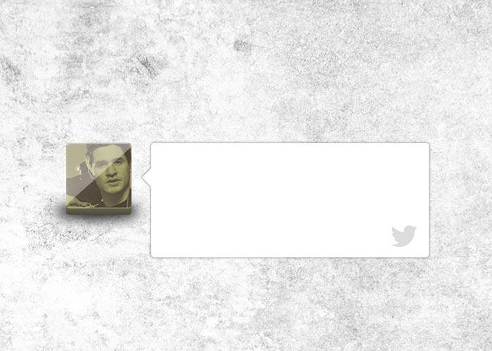 Create a Twitter Widget UI - Photoshop CS6