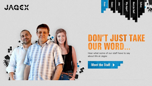 33 Website Layouts from Internet Studios and Media Companies