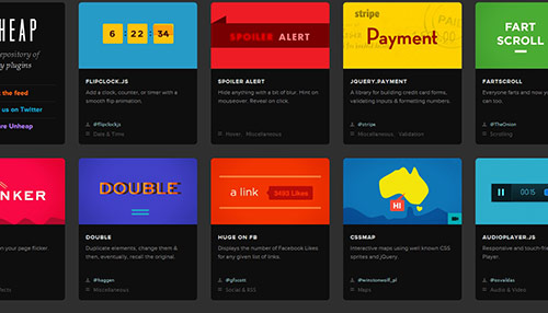 Great Collection of JQuery Stuff