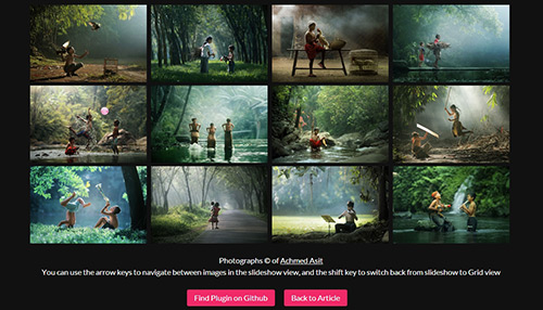 A Responsive jQuery Gallery with CSS3 Animations