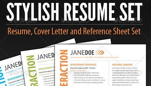 37 Stylish Resume Templates
