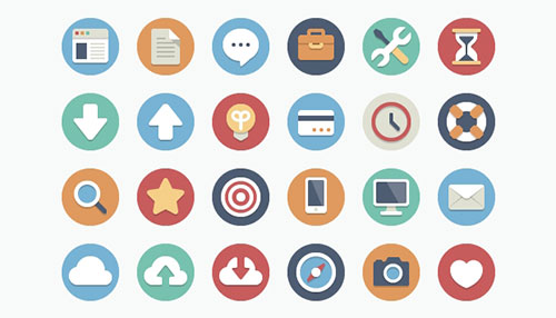 Beautiful Flat Icons – Download 180 Free And Open Source Variations
