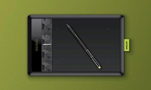 Create a Wacom Bamboo Tablet