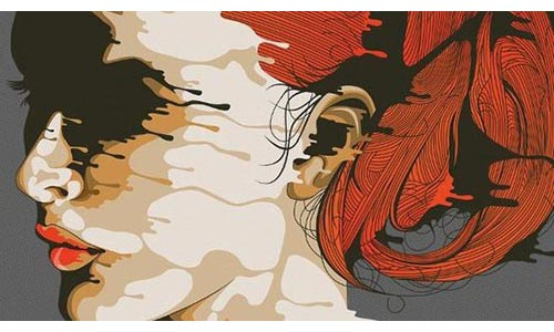 Create a drip-effect portrait in Illustrator