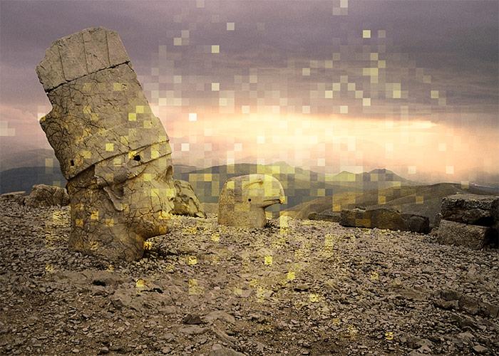 QUICK Photoshop CS6 Tutorial: Misty Mosaic Effect