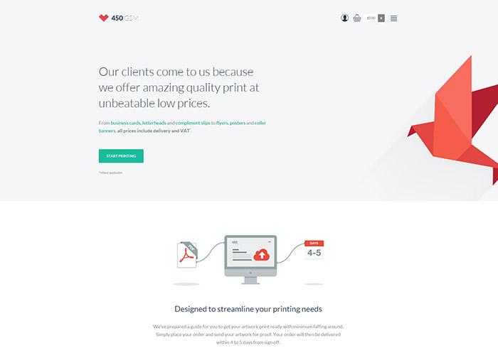 Flat Design Inspiration - Websites