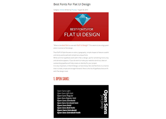 best-fonts-for-flat-design
