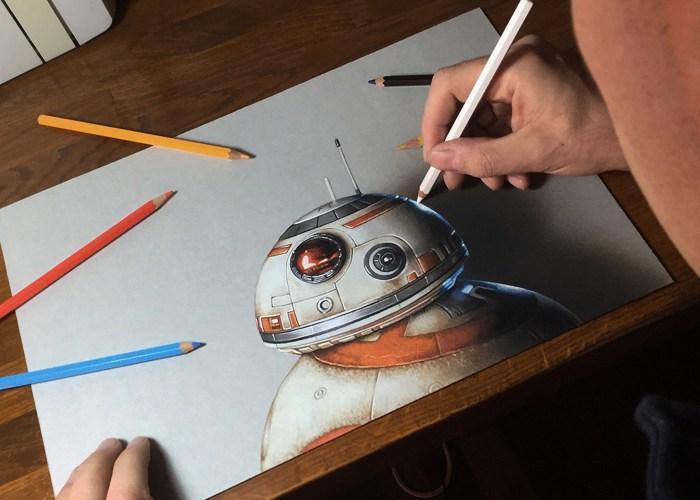 drawing bb-8