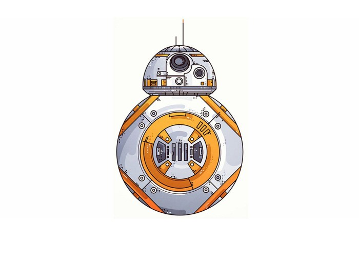 BB-8 Illustration