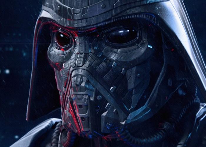 Mech Darth Vader Mask