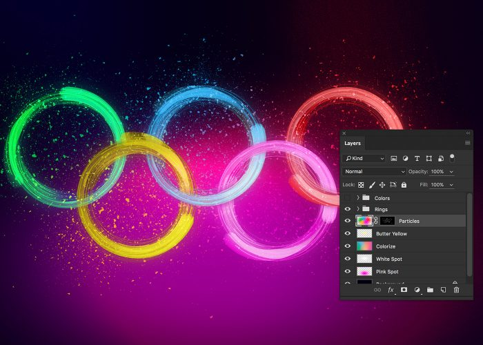 15-dramatic-exploding-olympic-rings-tutorial