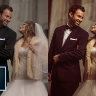 Rich Faded Wedding Photo Effect in Lightroom (TUTORIAL)