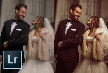 Rich Faded Wedding Photo Effect in Lightroom (TUTORIAL)
