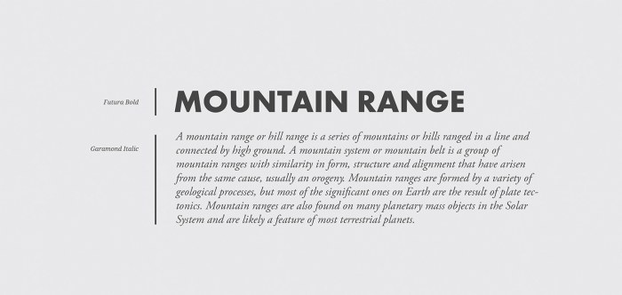 how to pair fonts font pairing