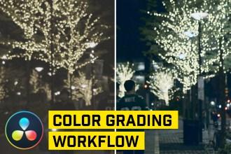 5 Steps to Color Grading in DaVinci Resolve