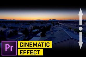 ANIMATE Masks to Create a CINEMATIC Movie Intro - Premiere Pro CC