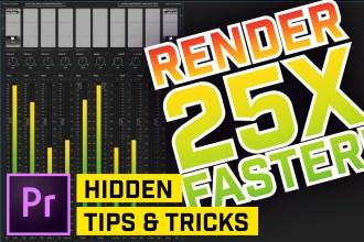 5 Hidden Tips & Tricks in Premiere Pro CC