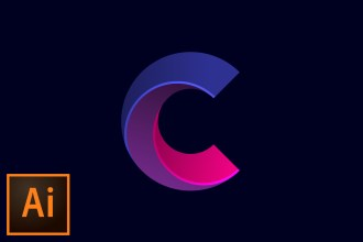 Simple Logo Mark with Circles Illustrator CC Tutorial
