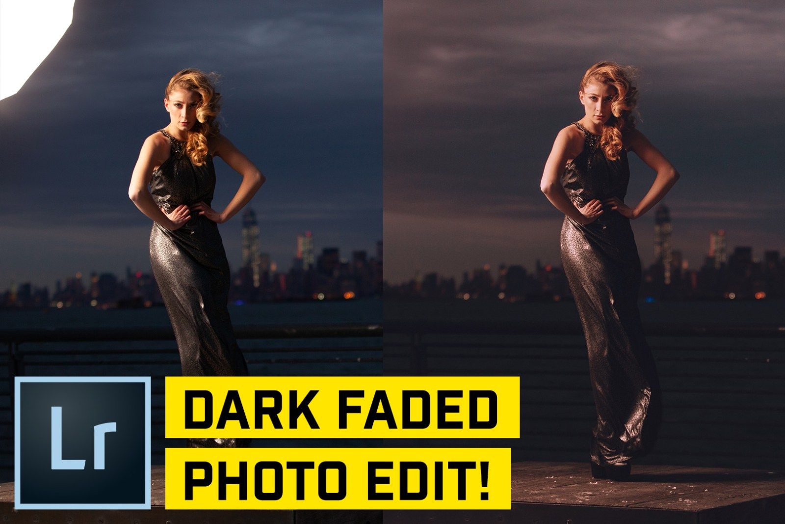 Dark Faded Style Portrait in Lightroom CC (Classic)
