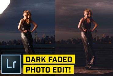 Dark Faded Style Portrait in Lightroom CC (Classic)
