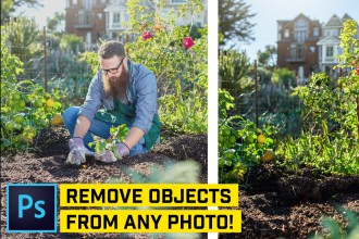 5 Ways to Remove ANYTHING From a Photo in Photoshop CC