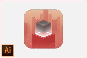 Floating Cube Icon Design – Illustrator Tutorial