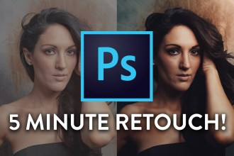 5 MINUTE GUIDE: How to retouch photos in Photoshop CC