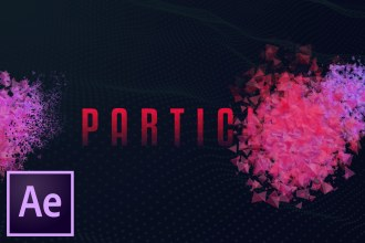 Particle Text/Logo Reveal Effect! After Effects (NO PLUGINS!)