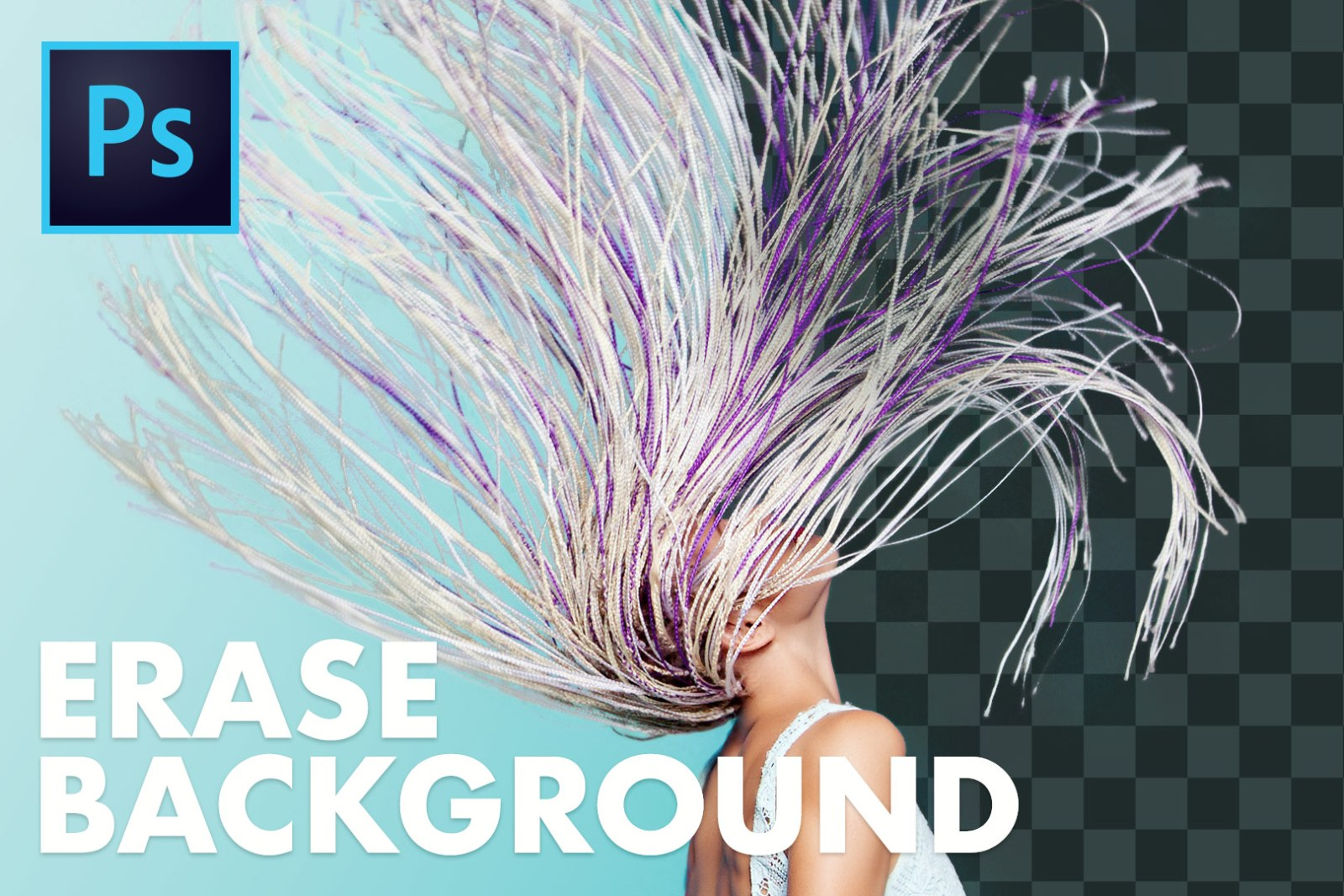 Fast & POWERFUL Way to Erase a Background in Photoshop! (Background Eraser Tool in Photoshop)