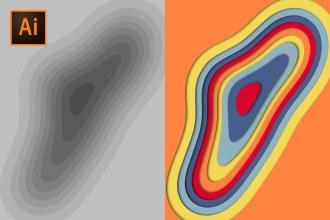 Paper Cut Out Illustrator Tutorial (2 METHODS!)