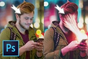 PHOTOSHOP: Sucked into smartphone photo manipulation tutorial