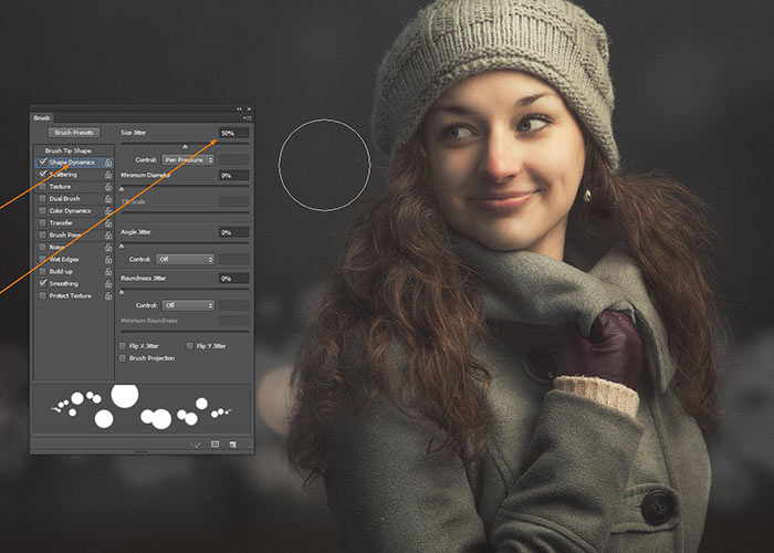 Create Bokeh in Photographs - Photoshop Tutorial
