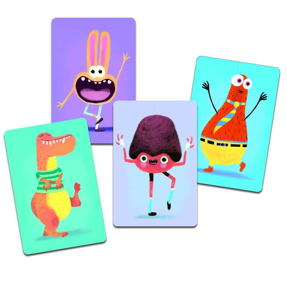 קלפים - מפלצות לדוגמא
